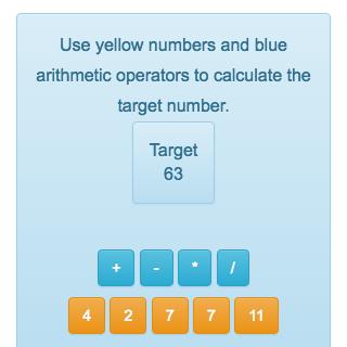 Gut gemocht Le compte est bon - jeu de calcul en ligne - Solumaths KH77