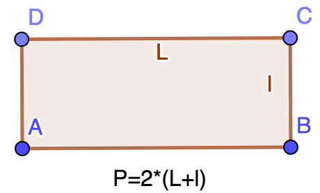 calculation of perimeters perimeter rectangle perimeter square
